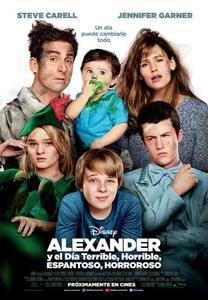 """Un niño de 11 años y las aventuras de su familia en """"Alexander y el día terrible, horrible, espantoso, horroroso"""" de Disney"""