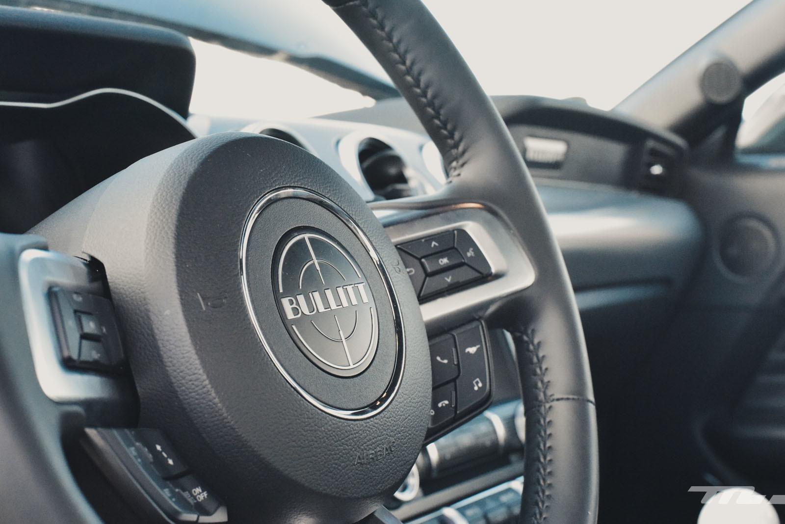 Ford Mustang Bullitt (prueba)