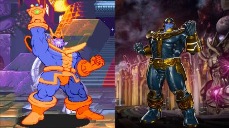 Así ha evolucionado Thanos, el villano de 'Vengadores: Infinity War', en los videojuegos