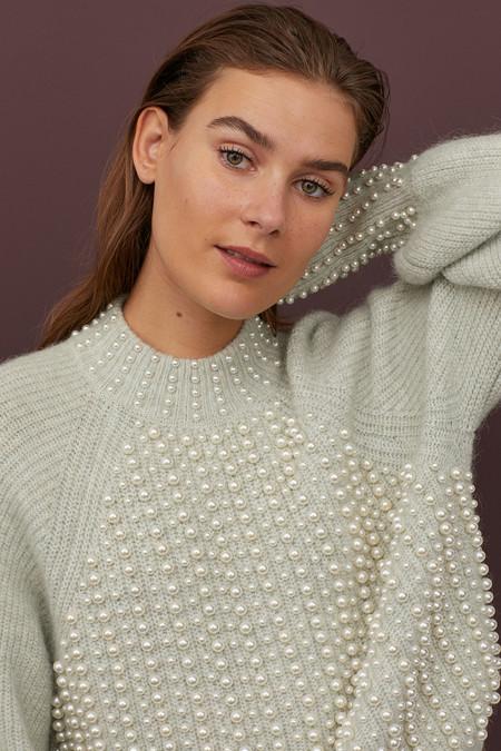 Hm Loewe Pearls Knit