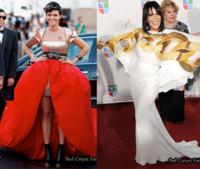 De Miami a Australia, los dos vestidos más feos que he visto en mucho tiempo