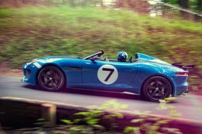 Jaguar Project 7, el F-Type que evoca al D-Type