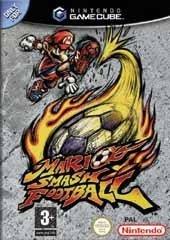 Carátula PAL del Mario Smash Football