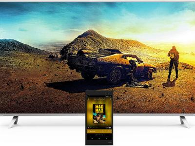 En las nuevas TVs de Vizio solo necesitarás Google Cast, su mando a distancia es una tablet