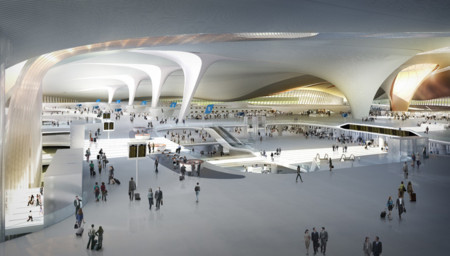 Zaha Hadid Beijing New Airport Terminal Building Daxing 01