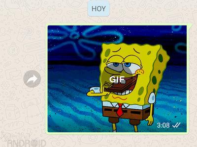 Cómo enviar GIFs con WhatsApp para Android