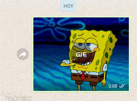 WhatsApp para Android ya permite a todo el mundo enviar GIFs animados