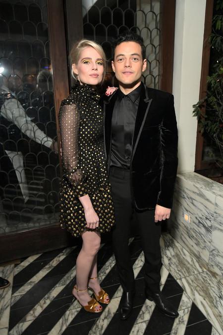 Rami Malek Se Enfunda En Terciopelo Previo A La Alfombra Roja De Los Oscars 2