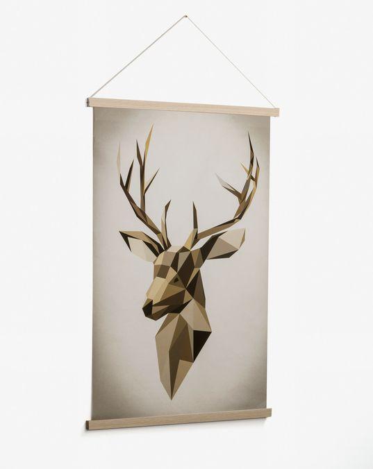 Cuadro Nomand 60 x 90 cm ciervo