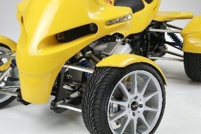 Un quad con motor BMW