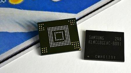 Samsung comienza a fabricar memorias internas de 64GB y 10nm para smartphones