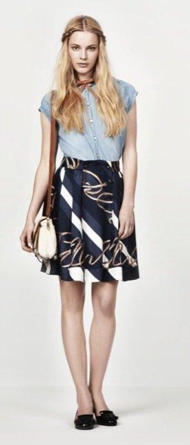 Zara, nuevo lookbook para el Verano 2010: Olivia Palermo