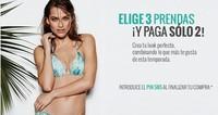 Elige tres prendas y paga dos en women'secret hasta el 29 de mayo