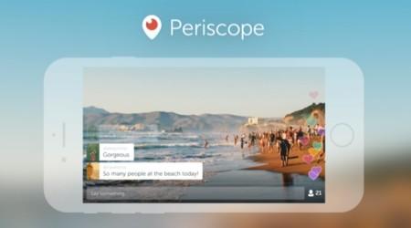 Periscope elimina la restricción: ya puedes transmitir grabando en horizontal