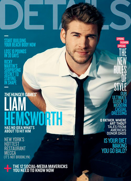 Liam Hemsworth en details