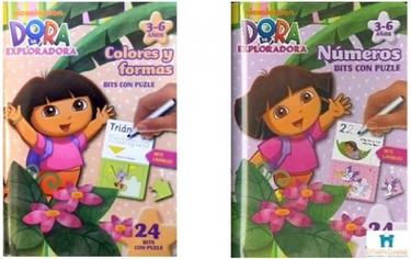 Bits con puzles de Dora la Exploradora