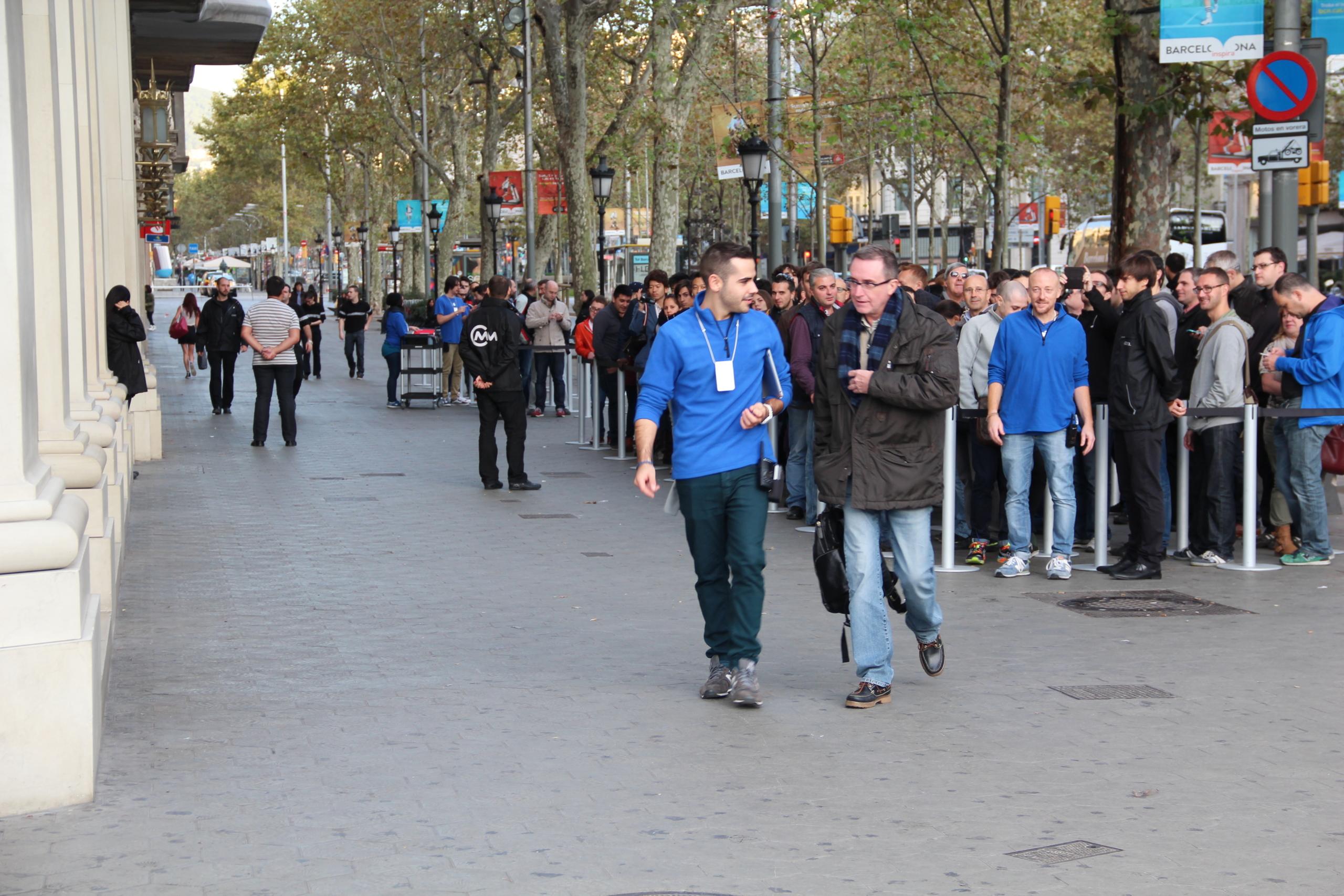 Foto de Lanzamiento del iPad Air en Barcelona (26/30)