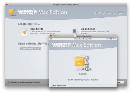 WinZip Mac Edition, el clásico de los compresores, ahora también en Mac