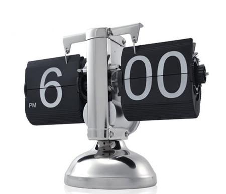 Despertador Retro Flip, un singular objeto de decoración que te da la hora