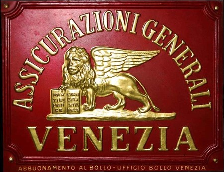 Targa Assicurazioni Generali Venezia Roberto Casagrande