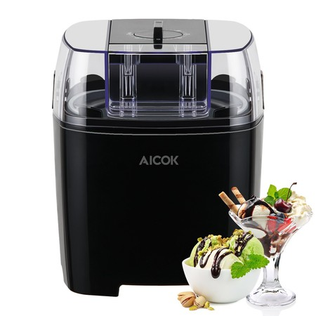 Oferta flash Amazon: Maquina de helados Aicok por sólo 33,99 euros. Puedes preparar helados ricos y sanos.