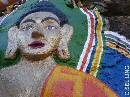 Alojarse en un monasterio budista de...España