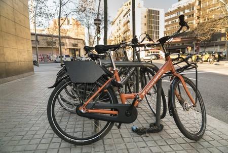 Motos Bicicletas Compartidas Barcelona 1