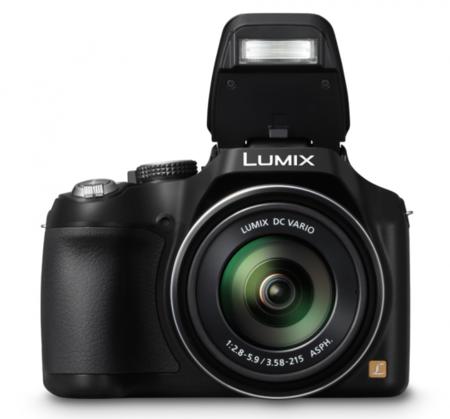 Esta novísima Lumix incorpora un flash realmente polivalente