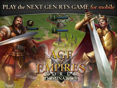 Nunca es tarde si la dicha es buena: 'Age of Empires: World Domination' llega a Android