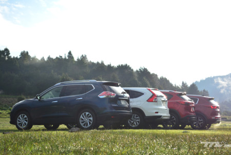 Kia Sportage Vs Mazda Cx 5 Vs Nisasn X Trail Vs Honda Cr V 5