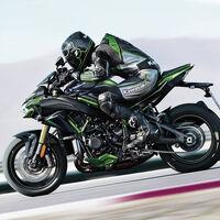 La Kawasaki Z H2 SE apuesta por la suspensión electrónica, para los mismos 200 CV sobrealimentados