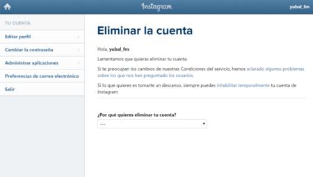 Eliminar Tu Cuenta De Instagram