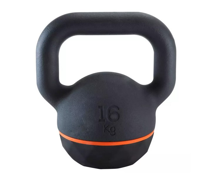 Kettlebell Pesa Rusa 16kg. Domyos Cross Fitness Musculación