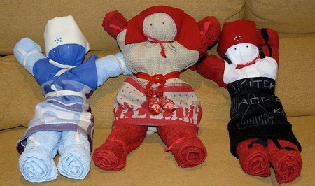 ¿Muñecos de trapo?, buenos, bonitos y baratos