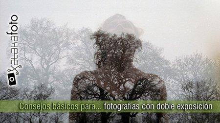 Cinco consejos básicos para tomar fotografías con doble exposición