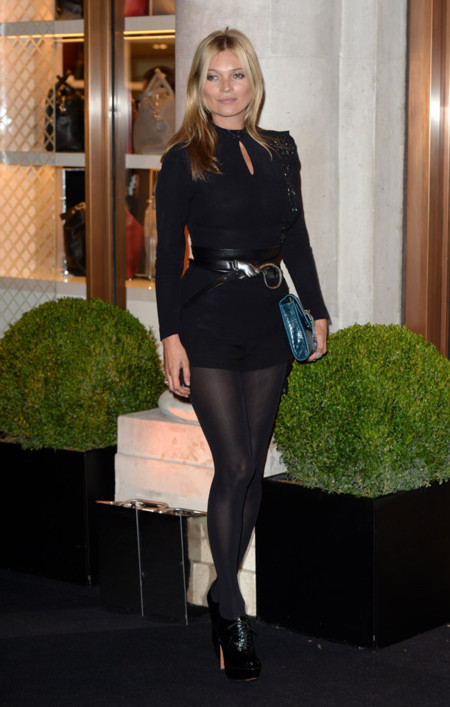 Kate Moss Londres Semana Moda