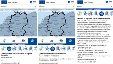 Mapa Movilidad Europea 3
