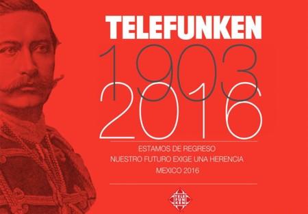 TELEFUNKEN, marca europea de electrónica de consumo regresará a México en 2016