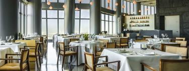En el restaurante más alto de España, Espacio 33, las vistas de Madrid forman parte de la decoración