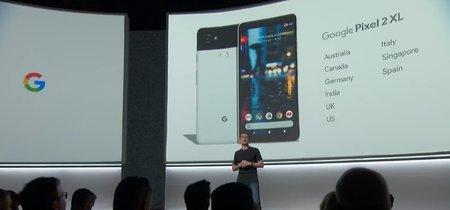El Google Pixel 2 XL llegará a España: configuraciones, precios y fecha de lanzamiento