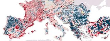 La Europa vaciada: así se ha desplazado la población del campo a la ciudad en apenas diez años