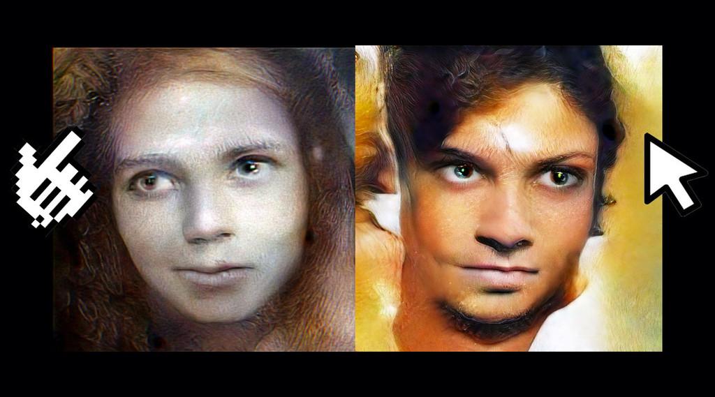 Retratos inquietantes