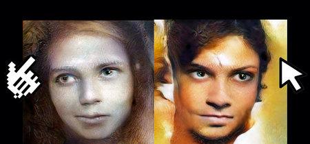 Estos inquietantes rostros siguen con su mirada tu cursor y se han creado combinando trabajos con redes neuronales