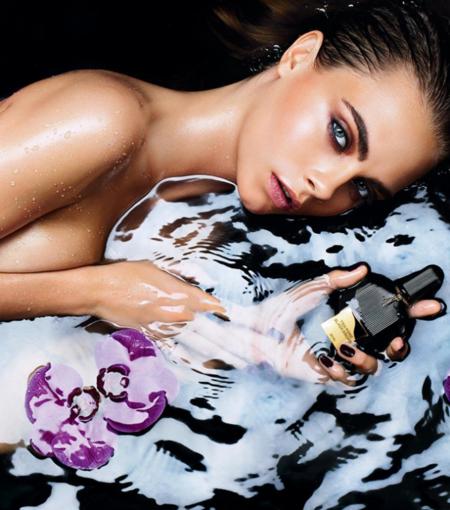 Cara Delevingne presta su rostro para Black Orchid, el mítico perfume de Tom Ford