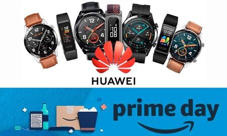 Amazon Prime Day 2020: relojes y pulseras deportivas Huawei a sus precios más bajos hasta la fecha
