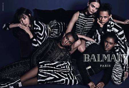 La nueva campaña de Balmain para este invierno es una oda a las diferencias étnicas
