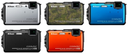Nikon colores AW110