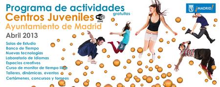 Talleres gratuitos en los Centros Juveniles del Ayuntamiento de Madrid