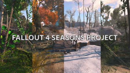 Llegan las cuatro estaciones al páramo gracias a este mod de Fallout 4