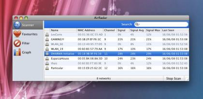 AirRadar: Escáner de redes Wi-Fi sencillo y funcional